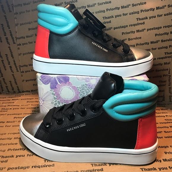Skechers Women's Hi Lite Color Block Sneaker 7.5